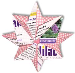 Origamisterne aus alten Webseiten