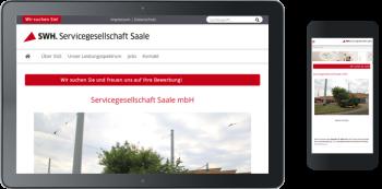 Homepage-Neuerstellung SGS Halle