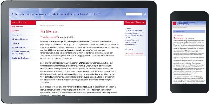 Webdesign AKPT