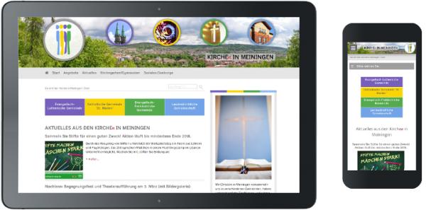 Webdesign Kirchen in Meiningen
