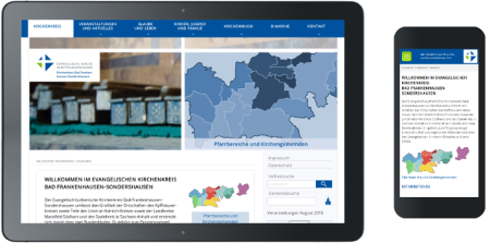 Webdesign Kirchenkreis Bad Frankenhausen-Sondershausen