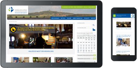 Webdesign Kirchenkreis Halle-Saalkreis