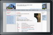 Webdesign Architekt Merkel 2007