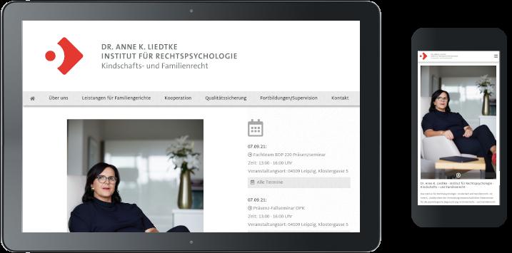 Webdesign rechtspsychologie-liedtke.de