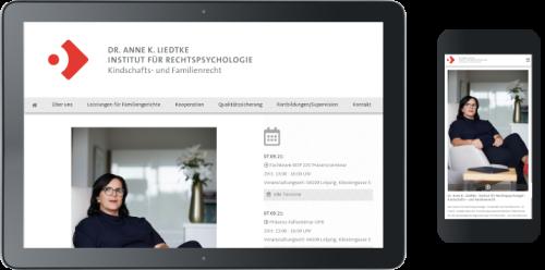 Webdesign rechtspsychologie-liedtke.de ©
