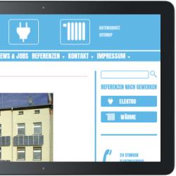 Webdesign Pusch Elektro Halle