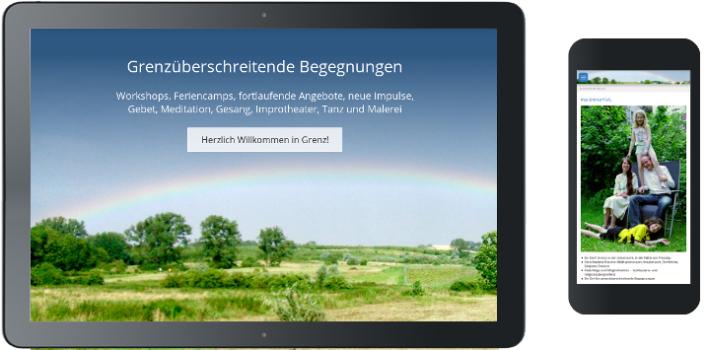 Webdesign Familienfreizeiten in der Uckermark