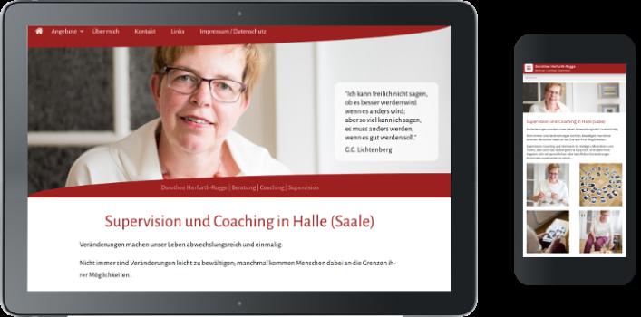 Webdesign und Responsive Design Coaching Halle