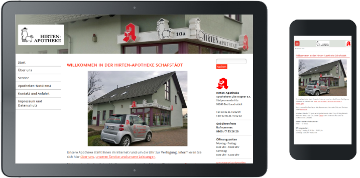 Hirten-Apotheke Schafstädt