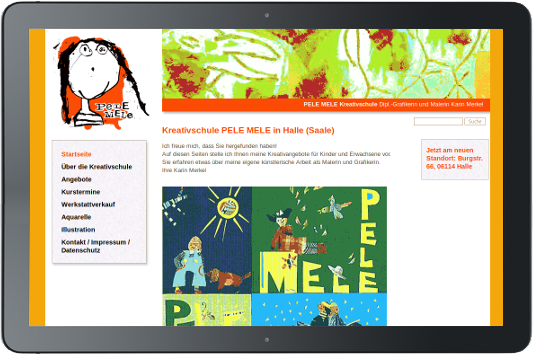 Webdesign Pelemele Kreativ